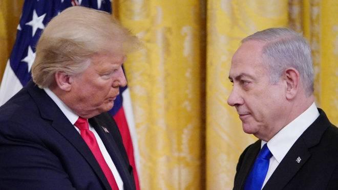 Trump, Israel e palestinos