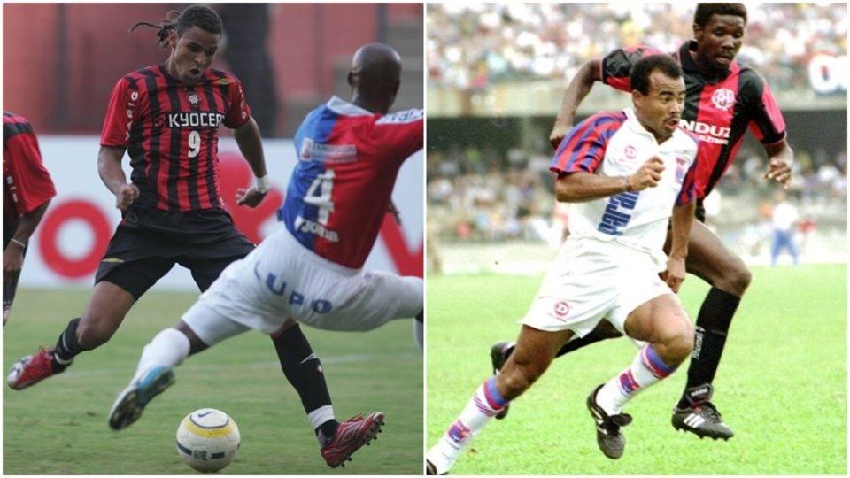 De uma vez por todas: qual o gol mais bonito de Athletico e Paraná? Mirandinha ou Dênis Marques?
