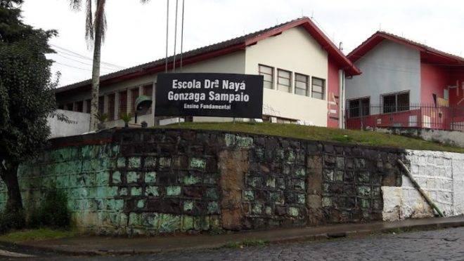 A Escola Dra. Nayá Gonzaga Sampaio fica no município de Caçador, em Santa Catarina.