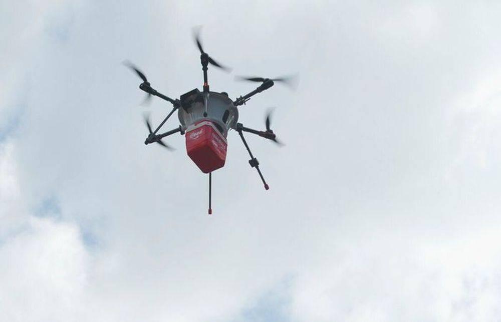 Em um primeiro momento, o objetivo é usar o drone em apenas uma das etapas de entrega, semelhante à ADA. Foto: divulgação.