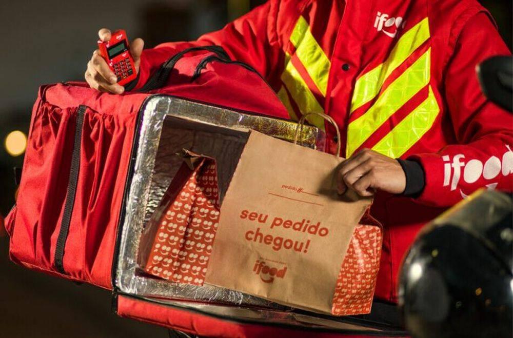 A startup brasileira iFood oferece uma frota própria de entregadores. Foto: divulgação.