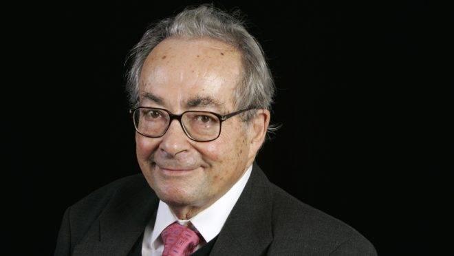 O crítico literário George Steiner