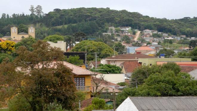 Bocaiúva do Sul tem pouco mais de 12 mil habitantes e faz parte da RMC