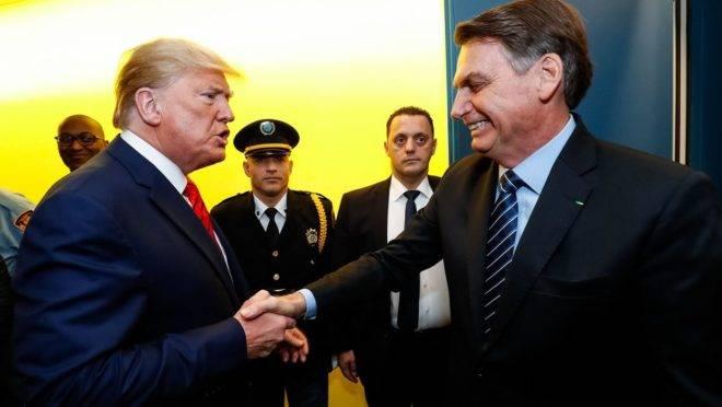 O presidente Jair Bolsonaro e o presidente dos Estados Unidos, Donald Trump, estão juntos na Aliança Internacional pela Liberdade Religiosa.
