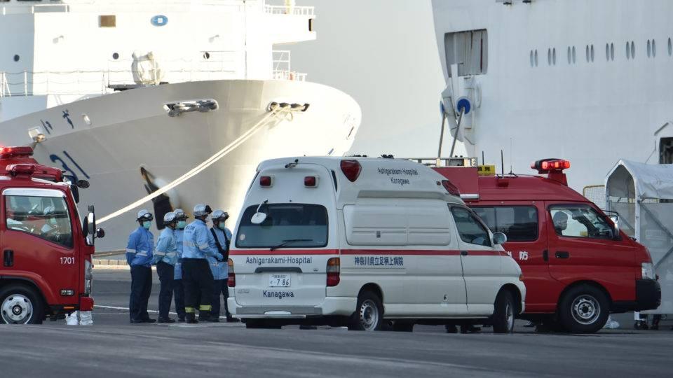 EUA vão tirar cidadãos de cruzeiro em quarentena no Japão com voo fretado