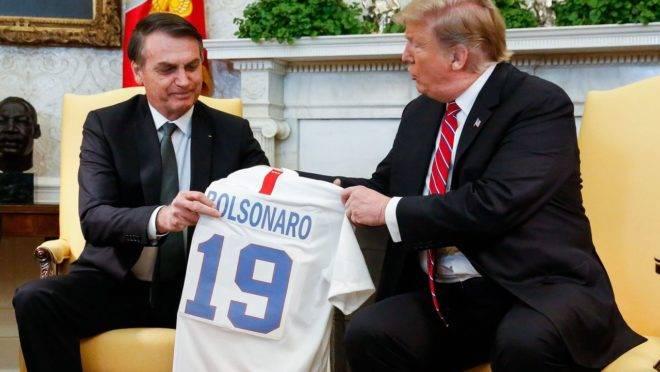 Parceria entre Brasil e EUA se aprofunda no início de 2020