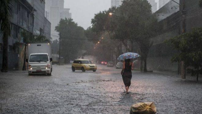 São Paulo foi atingida por fortes chuvas