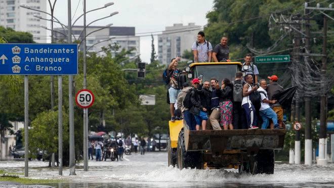 São Paulo registrou fortes chuvas