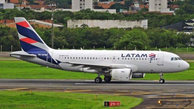 Latam cancela voos adicionais devido ao coronavírus.
