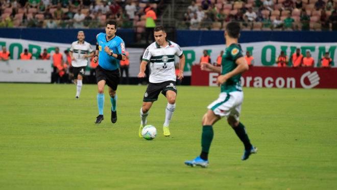 Coritiba foi eliminado pelo Manaus na primeira fase da Copa do Brasil 2020