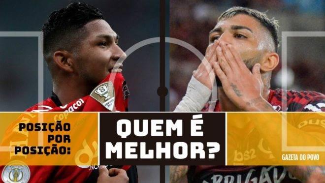 Athletico e Flamengo se enfrentam na Supercopa