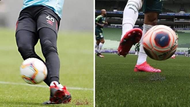Assim como o Athletico, Palmeiras adotou o gramado sintético