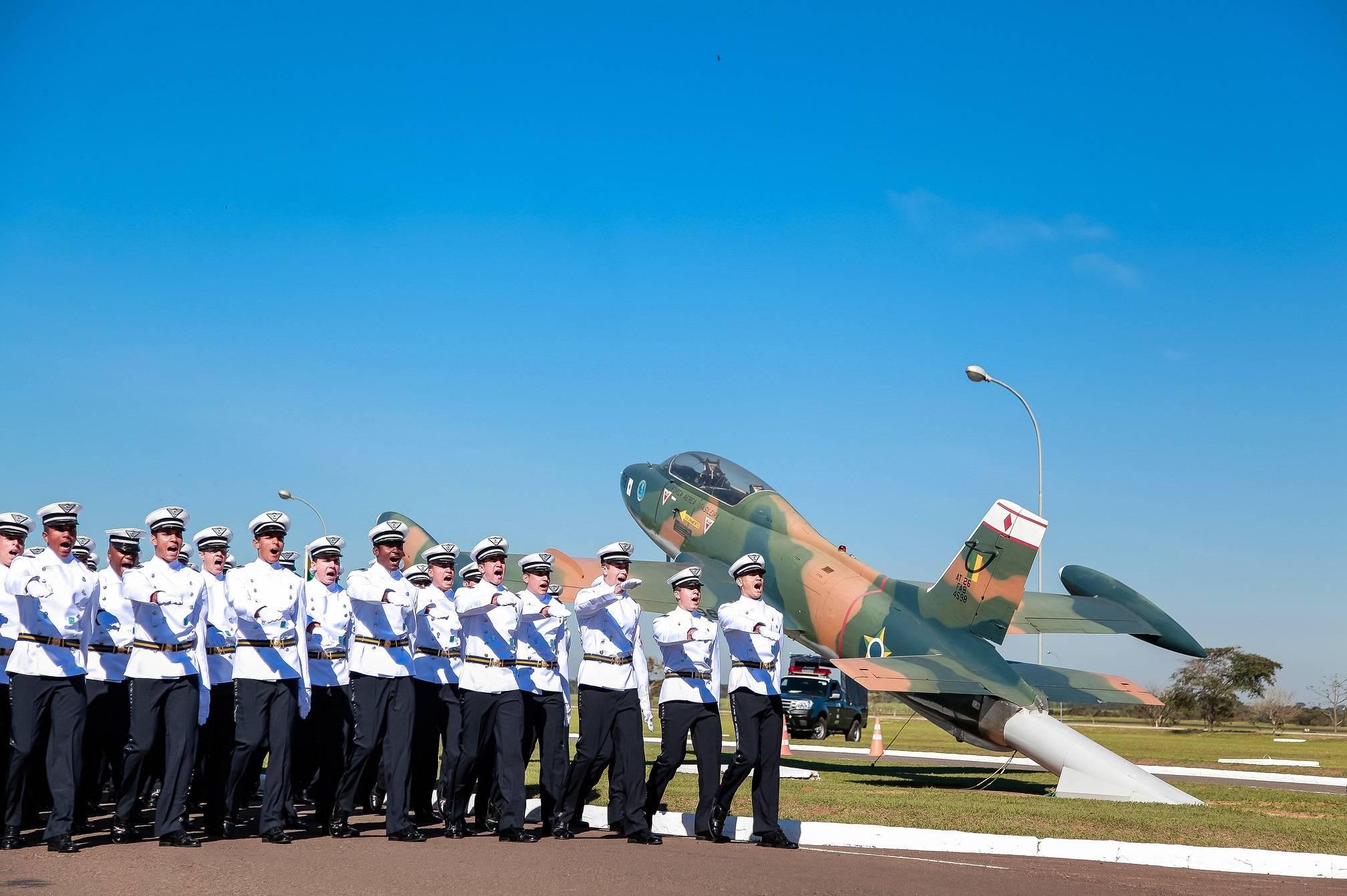 Cadetes na Academia da Força Aérea. Foto: Sgt. Johnson/FAB/Flickr
