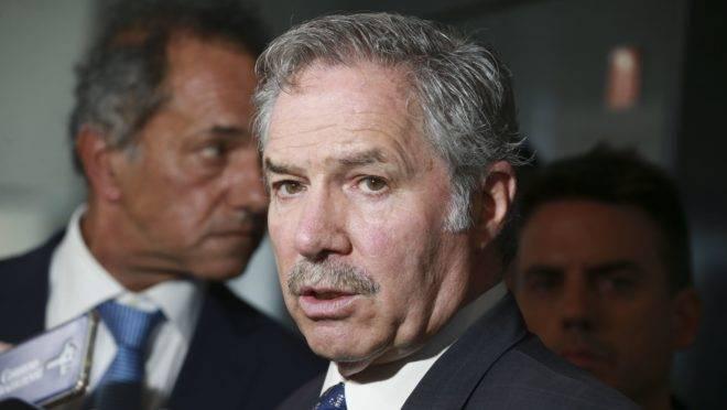 O chanceler argentino, Felipe Solá