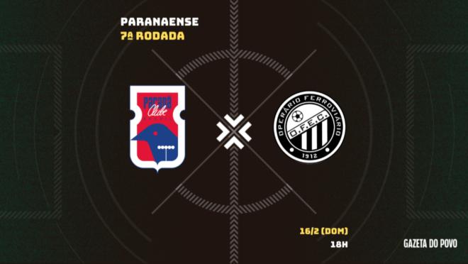 Paraná x Operário: tudo sobre o jogo!