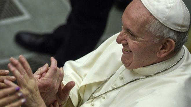 O papa Francisco, no Vaticano, 12 de fevereiro de 2020