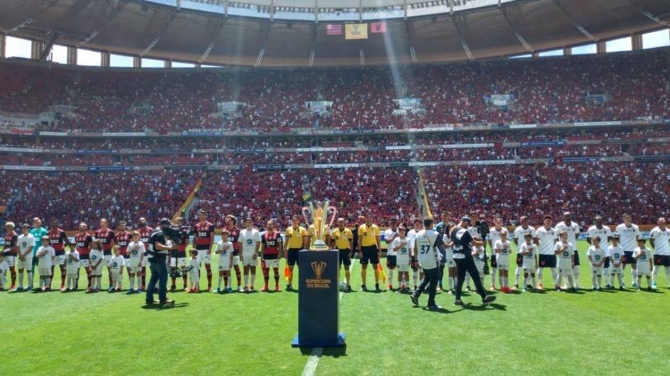 Bastidores: tudo o que a TV não mostrou da final entre Athletico e Flamengo