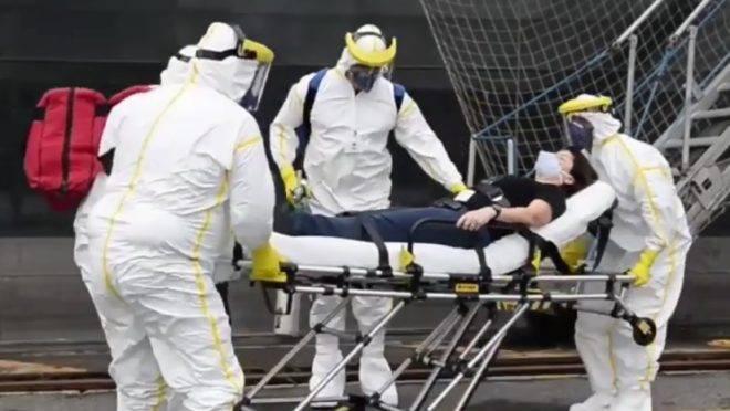 Porto de Santos realizou  exercício simulado de atendimento à chegada de navio com caso suspeito de tripulante contaminado pelo novo coronavírus.
