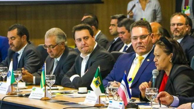 Ratinho Junior (PSD) participa de Fórum dos Governadores, em Brasília