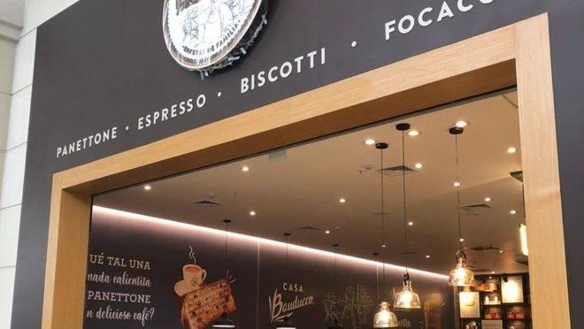 A primeira loja da Casa Bauducco fora do país, foi aberta em um shopping center de Lima, capital do Peru. Foto: divulgação.