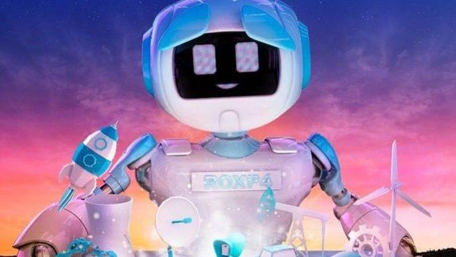 """Robô ROXP4 é quem conduz o enredo da escola de samba Rosas de Ouro em 2020, batizado de """"Tempos Modernos""""."""