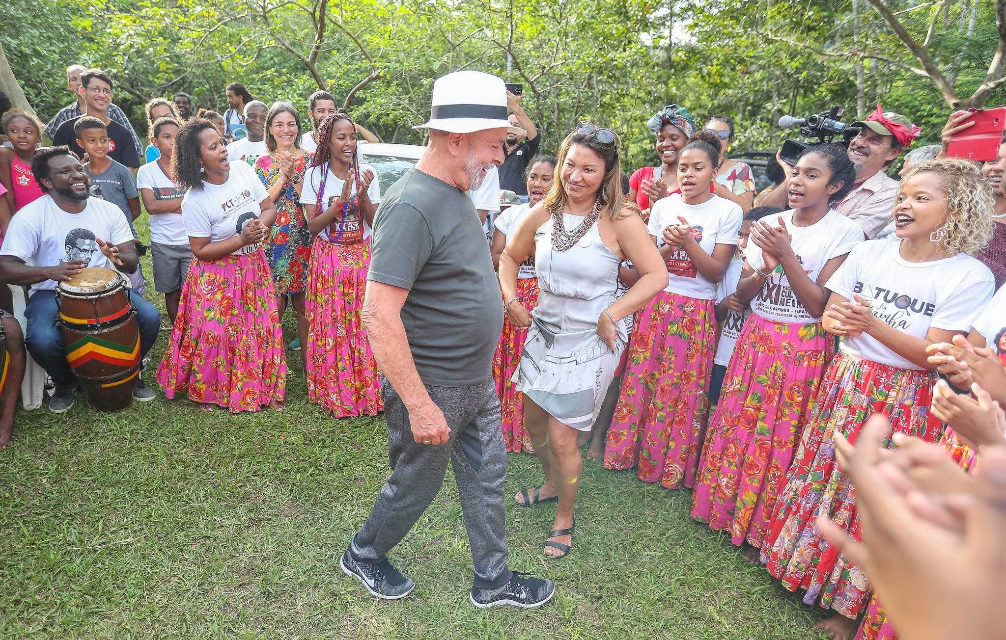 Lula passou uns dias de folga em Paraty, no litoral do Rio de Janeiro, no fim de novembro.