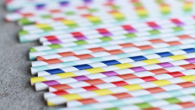Canudos de papel