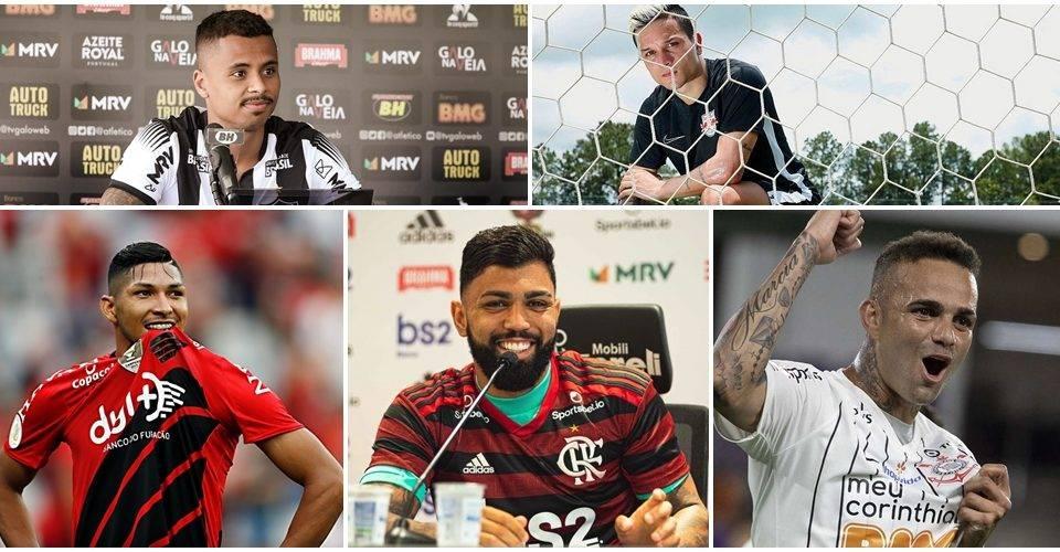 Veja os clubes brasileiros que mais gastaram para a temporada 2020