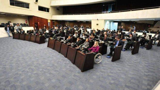 Parlamento universitário de 2019.