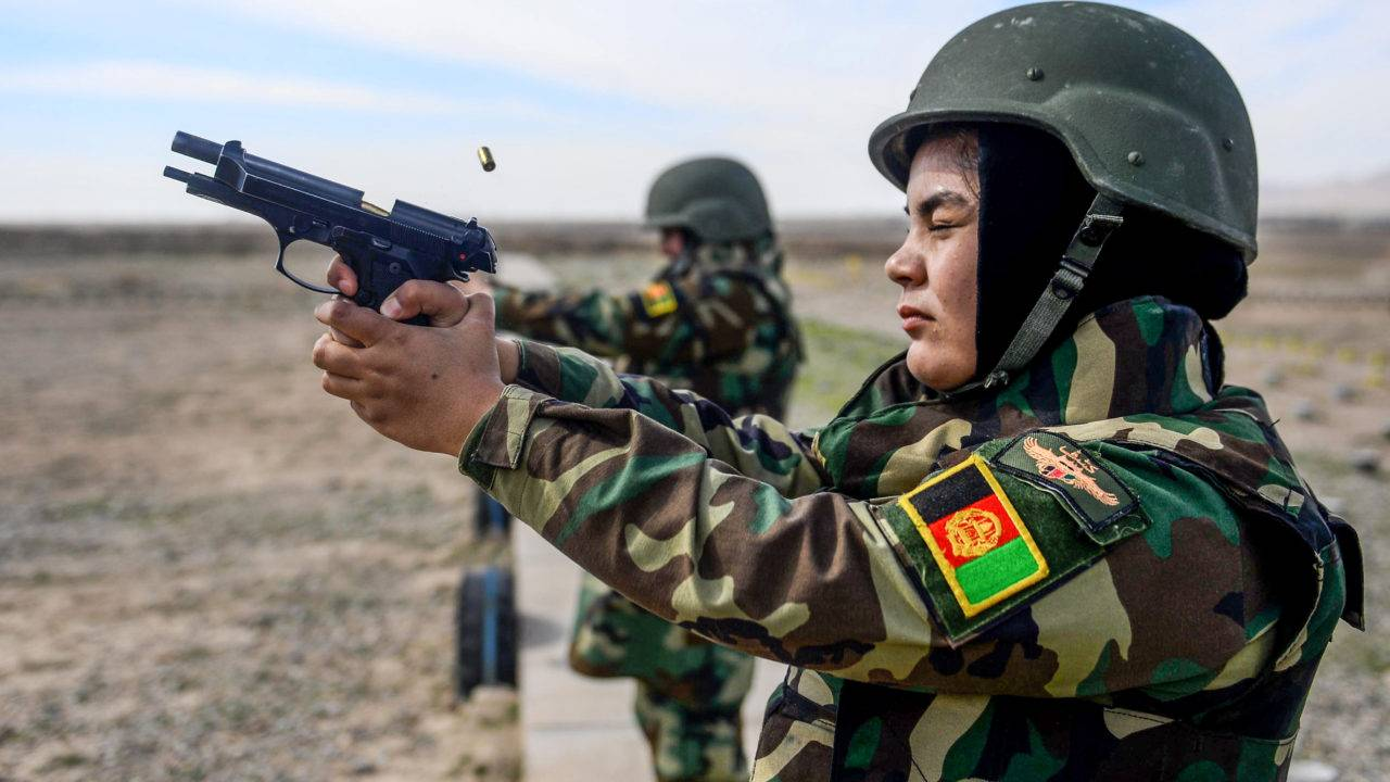afeganistão militar