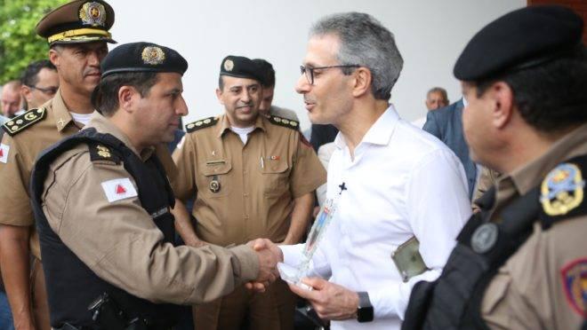 O governador de Minas Gerais, Romeu Zema (Novo): reajuste de 41% a policiais desencadeou pressões em outros estados.