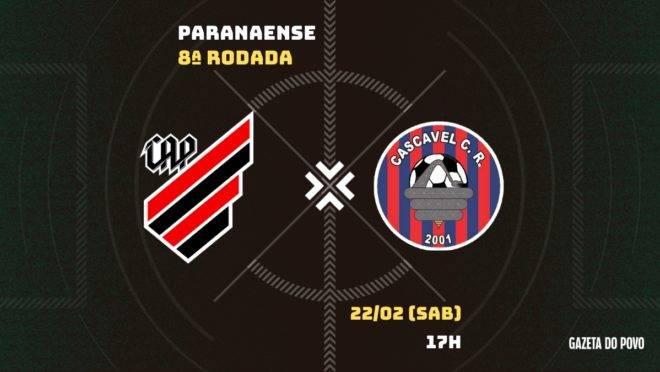 Athletico x Cascavel CR: saiba tudo sobre o jogo