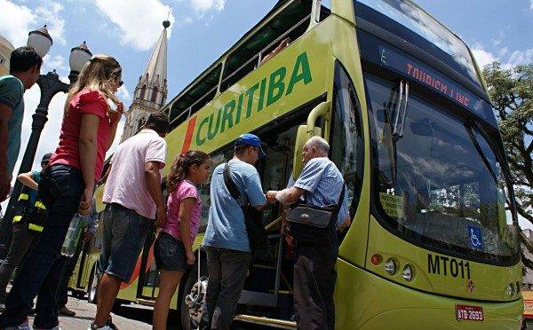 Linha Turismo é um dos termômetros do número de visitantes em Curitiba.
