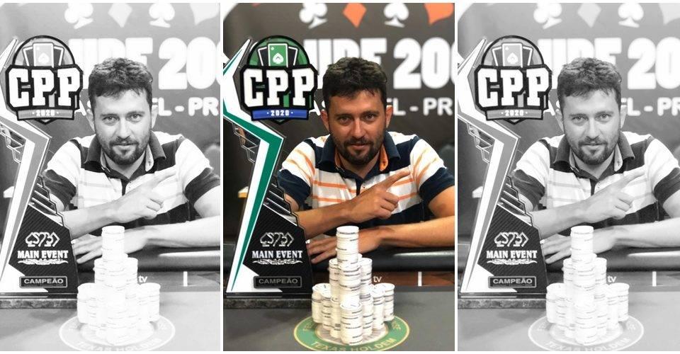 Paranaense de poker começa com campeão de Cascavel e prêmio de R$ 53 mil