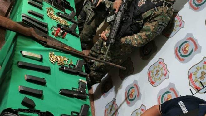 Operação também apreendeu armas, munições e carros que podem ter sido utilizados no crime.