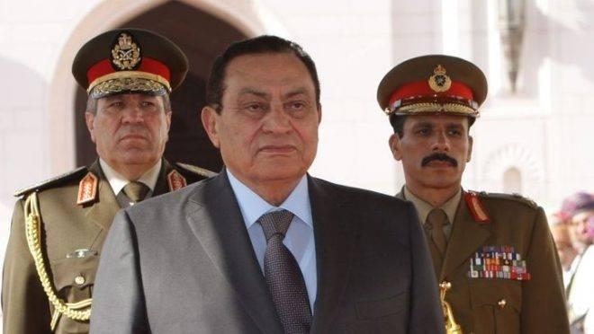 O então presidente Hosni Mubarak, em foto de março de 2009