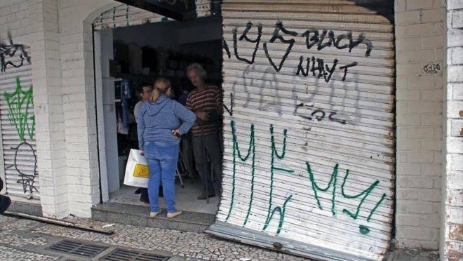 Comerciantes da região do Largo da Ordem contabilizam prejuízo com arrombamentos e furtos