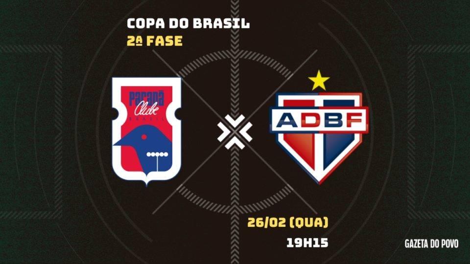 Paraná busca classificação, R$ 1,5 milhão e confronto com time da Série A. Saiba tudo da partida!