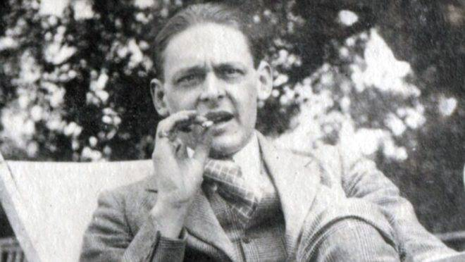 T.S. Eliot em 1923.