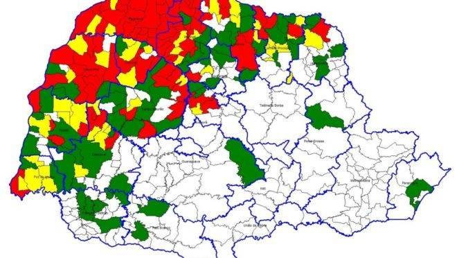 Situação da dengue no estado no fim de fevereiro