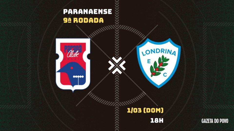 Embalado, Paraná pega o Londrina pra virar a chave na temporada