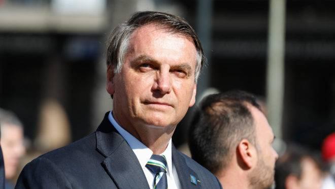 Bolsonaro participa da posse do presidente do Uruguai