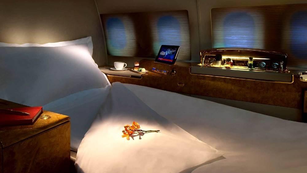 Os viajantes sairão de Dubai à bordo do jato particular Emirates A319. (crédito: divulgação).