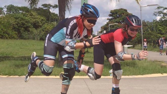 Ela ficou cega aos 27 anos e entrou em depressão, mas hoje é patinadora profissional