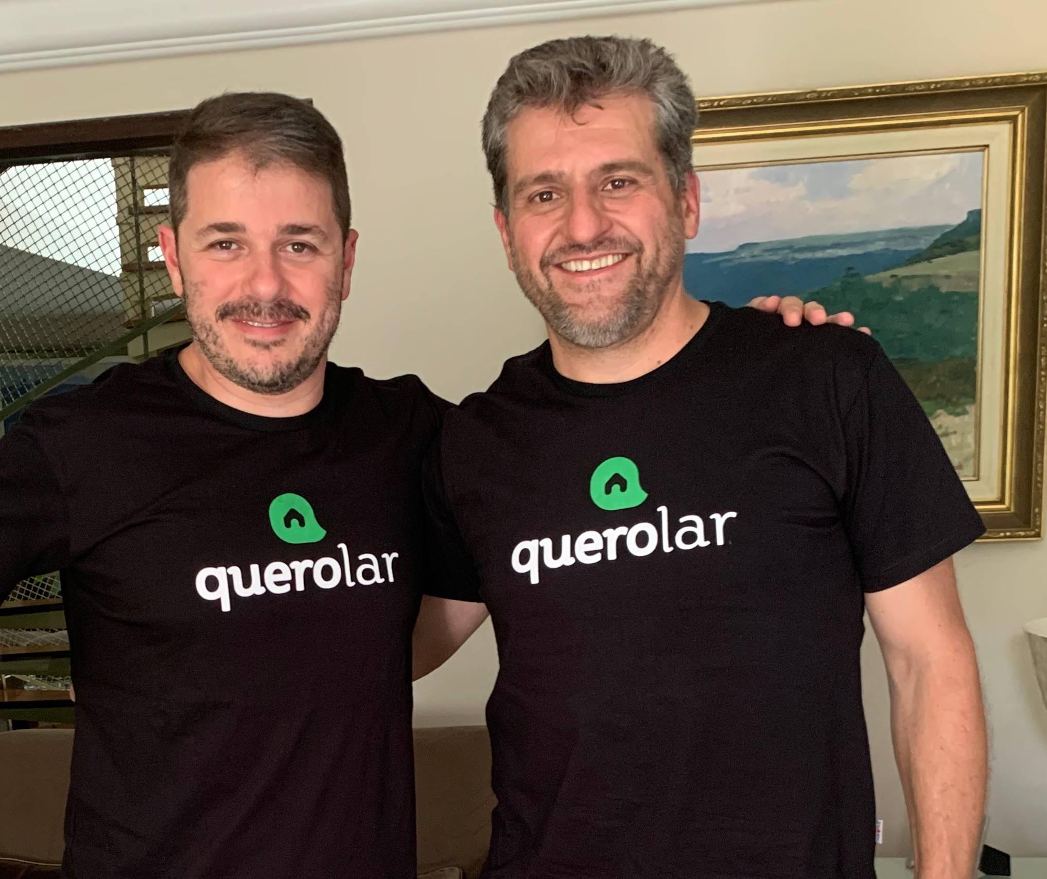 Emir e Nelson Pizzato, sócios da Quero Lar. Foto: Divulgação