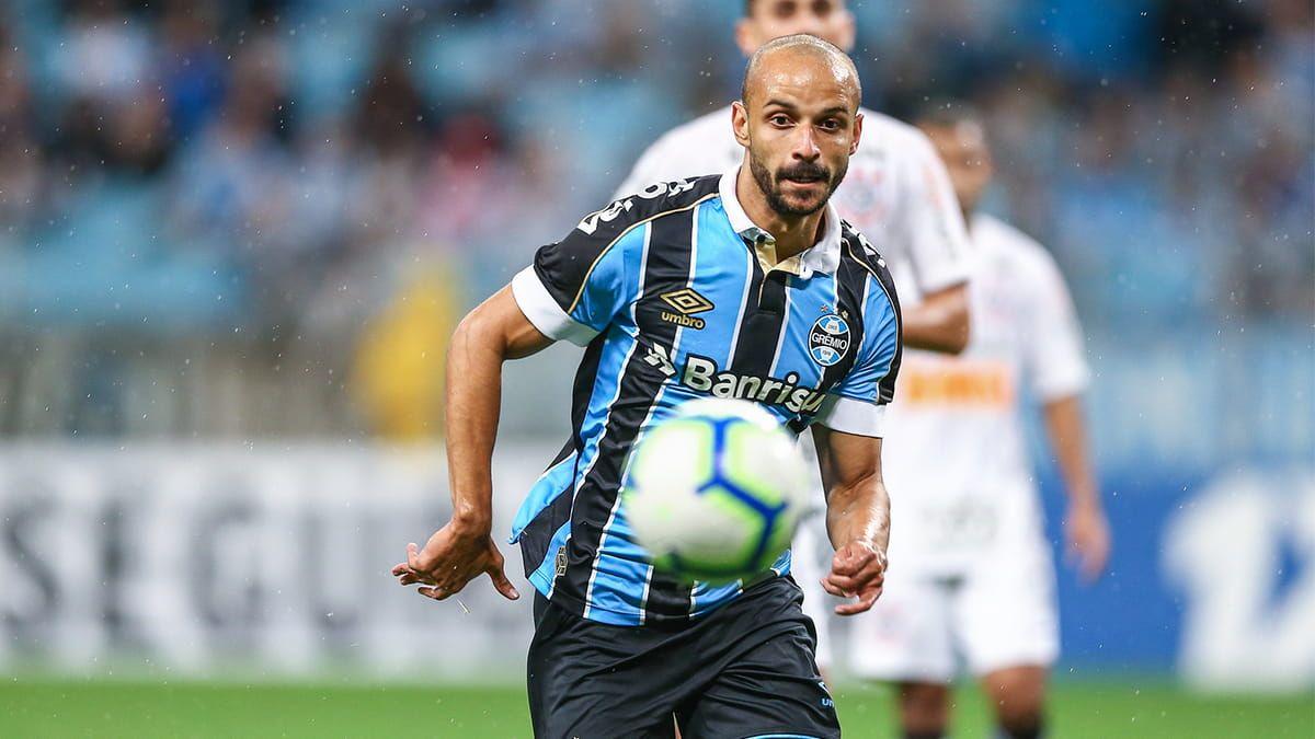 Thaciano é reserva do Grêmio, mas corresponde quando entra | Foto:  Lucas Uebel/Grêmio