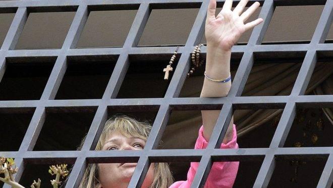 María Lourdes Afiuni em sua prisão domiciliar: ao ousar desafiar Hugo Chávez, sua vida foi tomada pela ditadura venezuelana