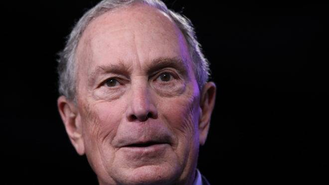 Mike Bloomberg superterça