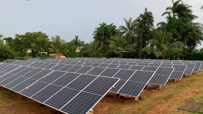 Placas solares da Romagnole Produtos Elétricos: empresa intensificou aposta em geração fotovoltaica