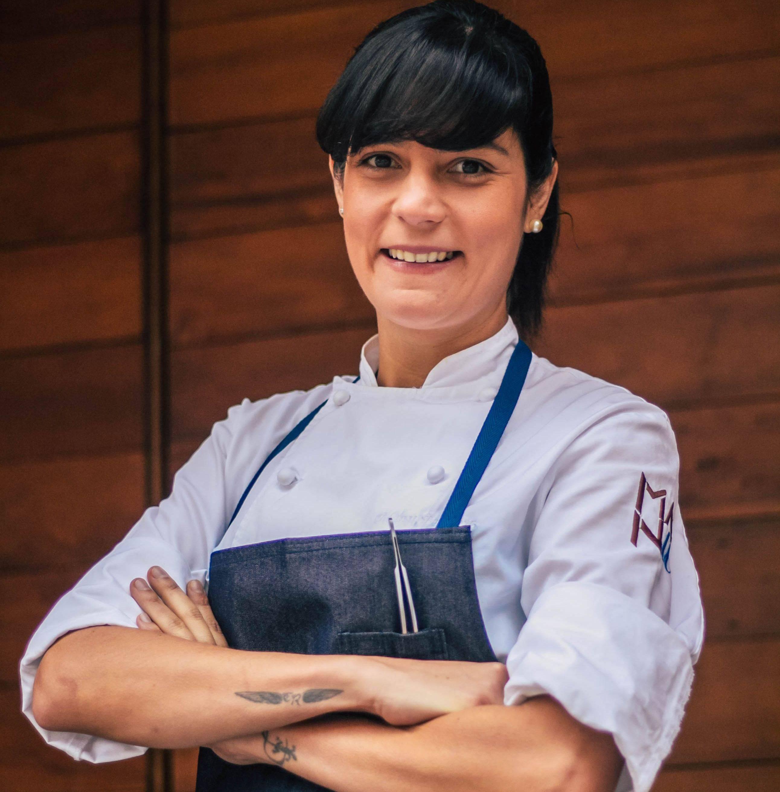 A chef Manu Buffara, do restaurante Manu, que estreou na lista dos 50 Melhores da América Latina em 2019. Foto: Divulgação